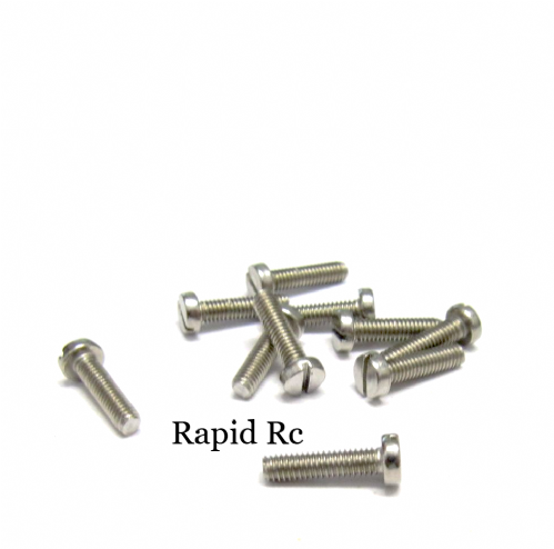 M2 x 12mm Stainless Steel Phillips Head Machine Screw
